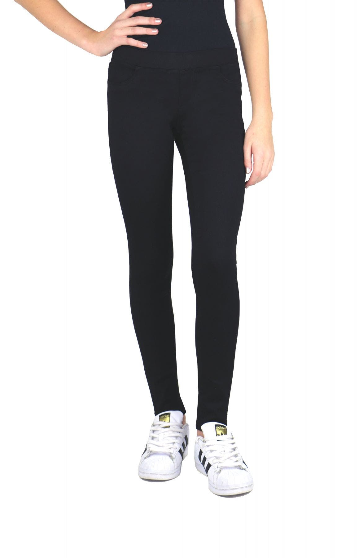 Tractr Girls Pull On Black Jegging