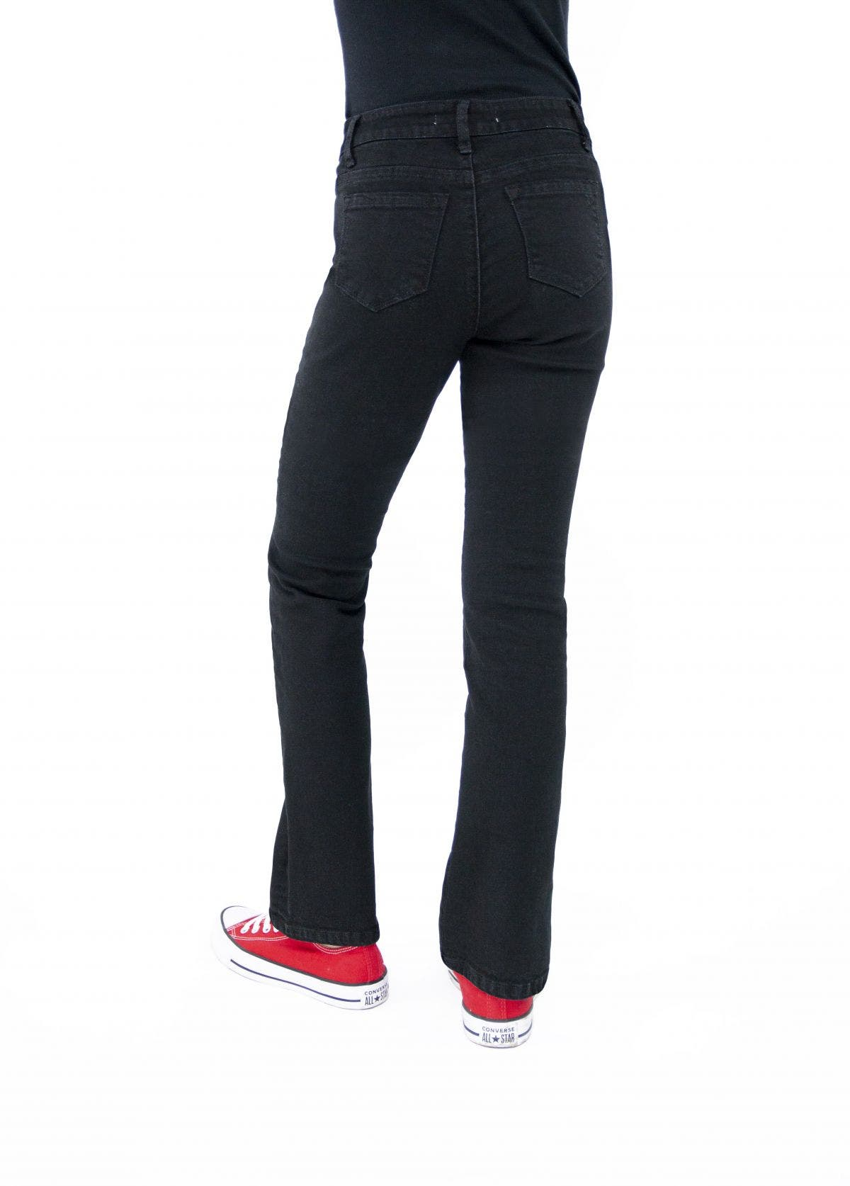 High Rise Bootcut Jeans