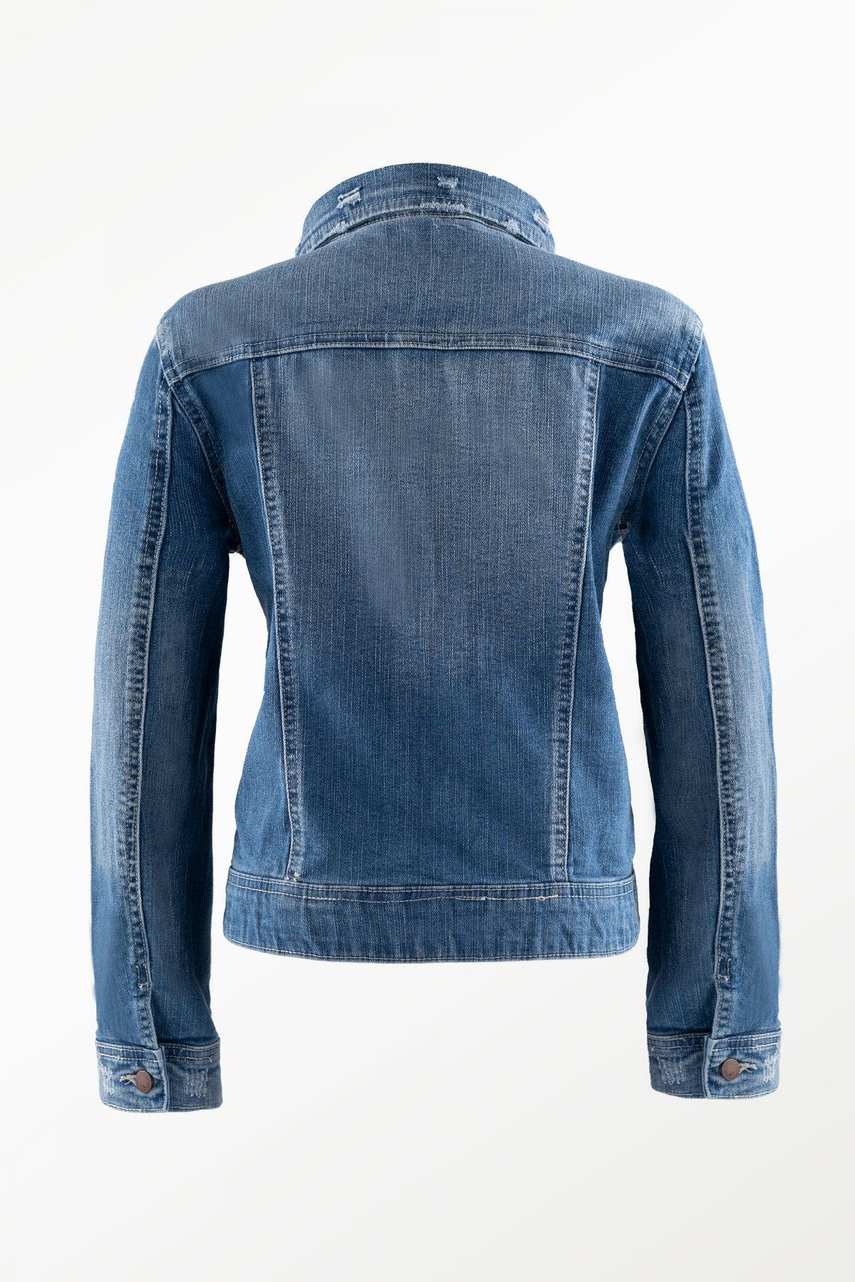 Vintage Basic Denim Jacket