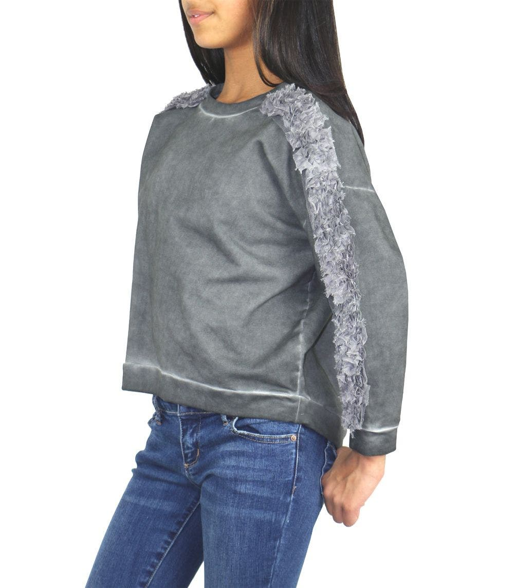 Tractr Girls Oversize Sweater