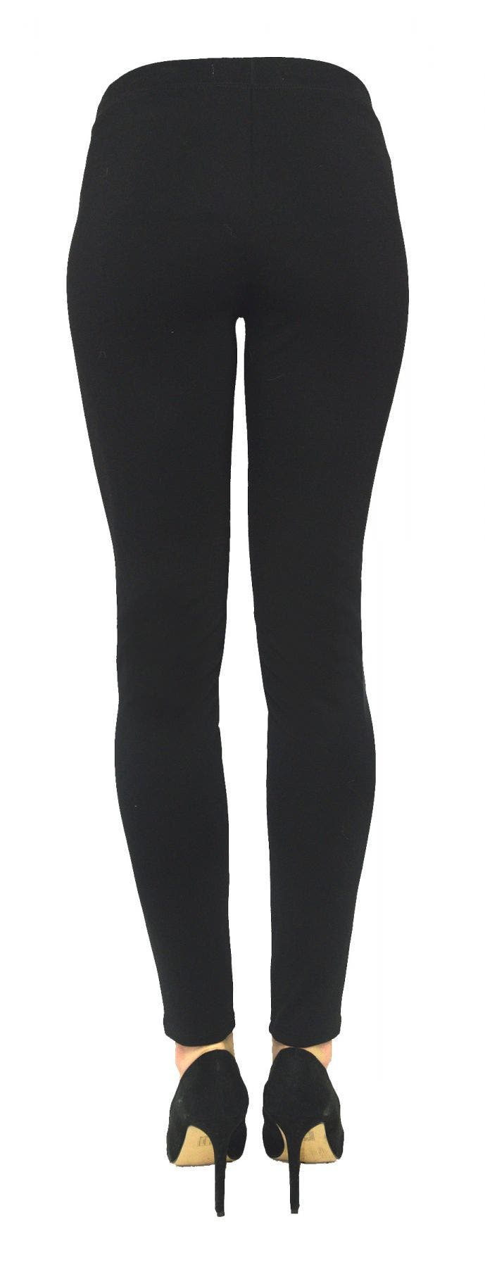 Tractr Pull on and Go Vegan Skinny with Ponte Back [Final Sale]
