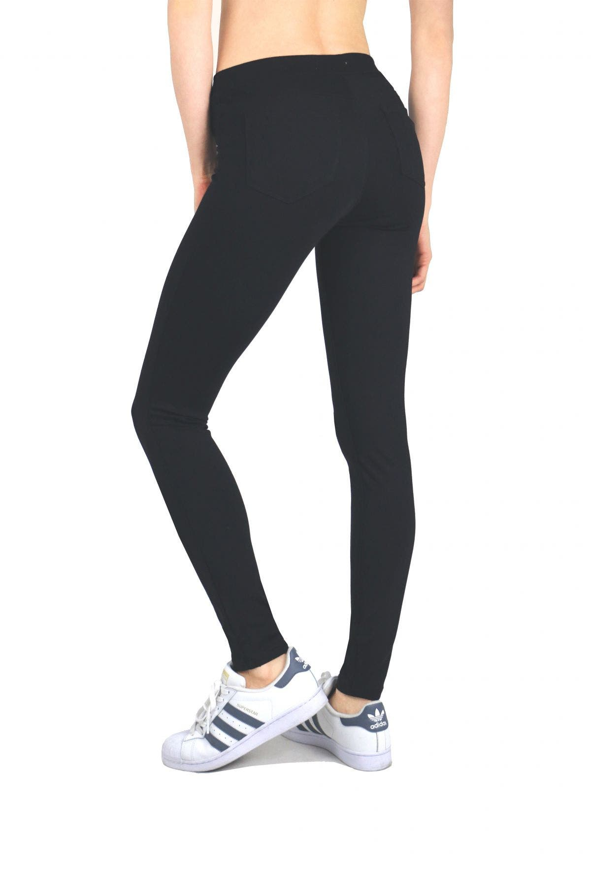Tractr Jeans High Rise Ponte Legging
