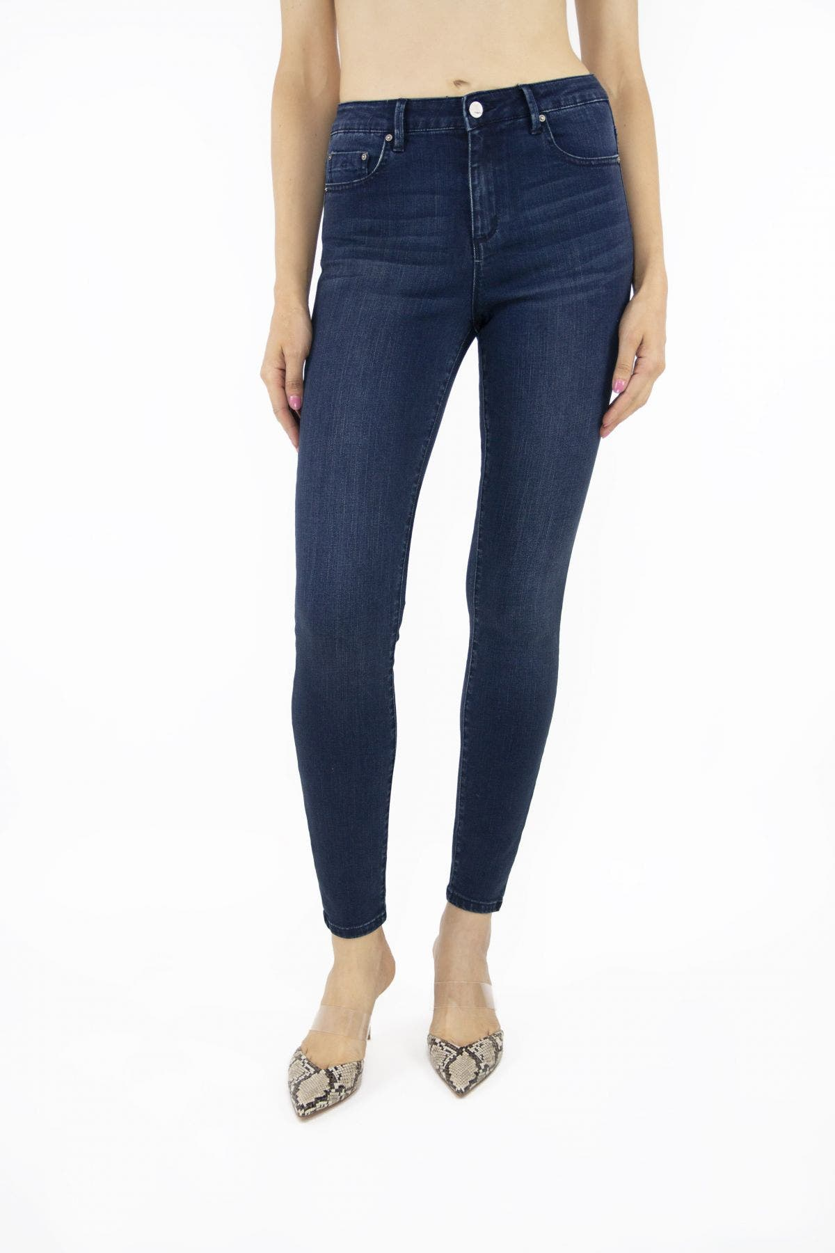 Tractr Jeans Diane Mid-Rise Skinny ♻️