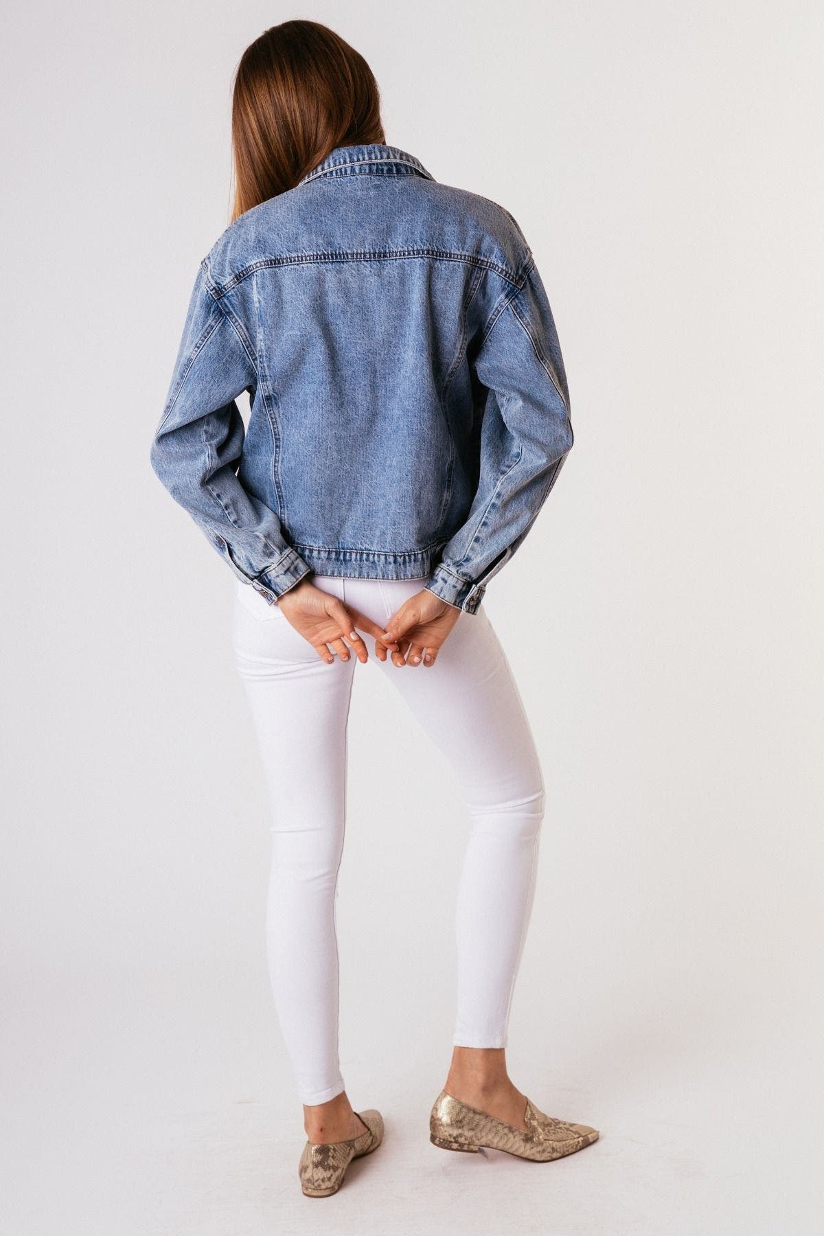 Tractr Blu Vintage Denim Jacket