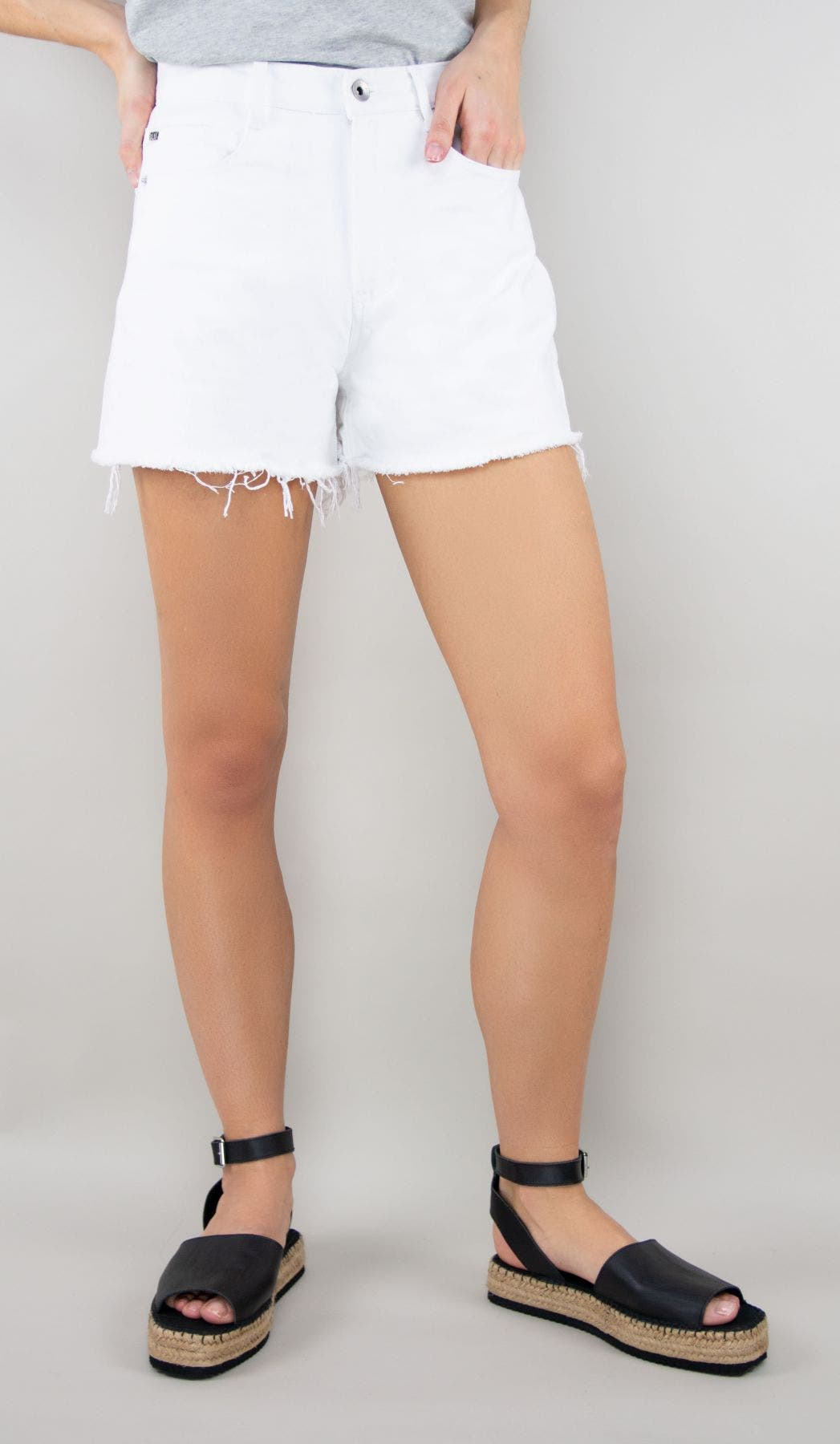 Tractr Blu High Rise Long Short