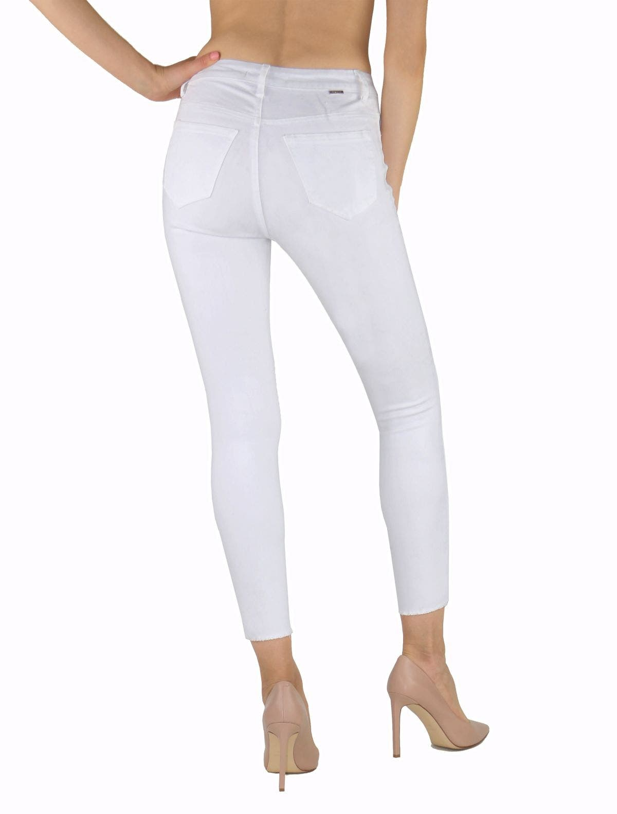 Tractr Jeans Mona High-Rise Crop Skinny