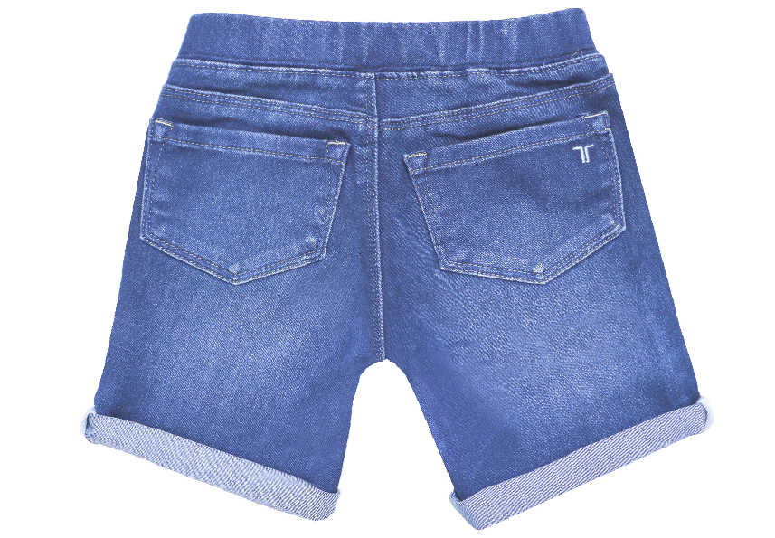 Tractr Girls Pull On Bermuda Jegging 4-6x